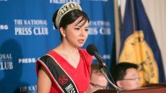 중국에 맞서 진실을 폭로한 미스 캐나다의 용기 있는 선택