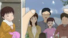 중국 고아 소녀의 실화를 바탕으로 한 단편 애니 <작은 연꽃>