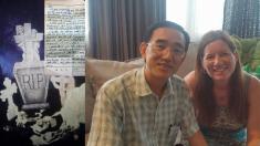 마트에서 산 중국산 제품에서 중국 양심수가 쓴 SOS 편지를 발견했다면?(영상)