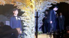 '결혼식 주인공은 나야 나?' 역대급 반전 신랑 입장 퍼포먼스