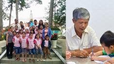 베트남 선행 아빠 '1만 6000여명 태아 안장해 주고 100여명의 아이는 살려내 키우고'