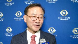 """지방의회 의장 """"션윈, 중국 역사를 이해하는 기회..색채도 아름답다"""""""