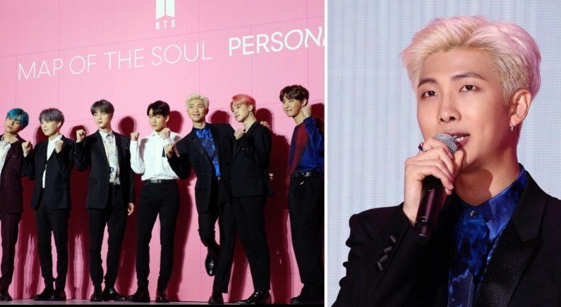 """""""BTS 음악으로 긍정적인 영향 끼치고 싶어서""""…RM이 직접 밝힌 '무대공포증' 극복 방법"""