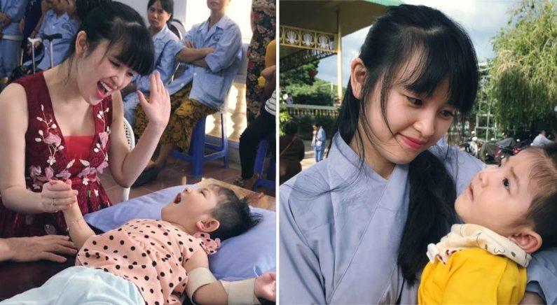 24세 미혼 여성, 영양실조 4세 아이 입양해 건강하게 키우다