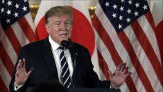 """트럼프 """"북한 도발행위, 일정 범위 안에 그쳐"""""""