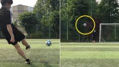 두 눈 뜨고 봐도 믿기 힘든 일반 고등학생의 'UFO 슈팅' 실력 (영상)