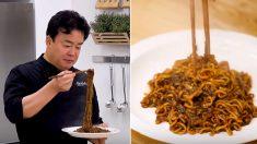 백종원이 밥 비벼 먹고 싶다고 극찬한 '양파게티' 레시피 (영상)