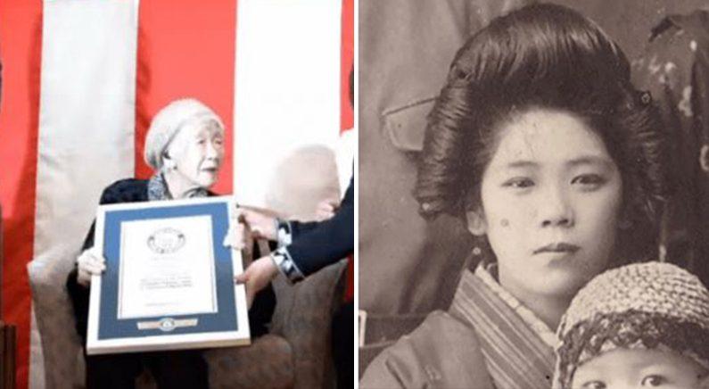 기네스북에 등재된 116세 할머니의 리즈시절