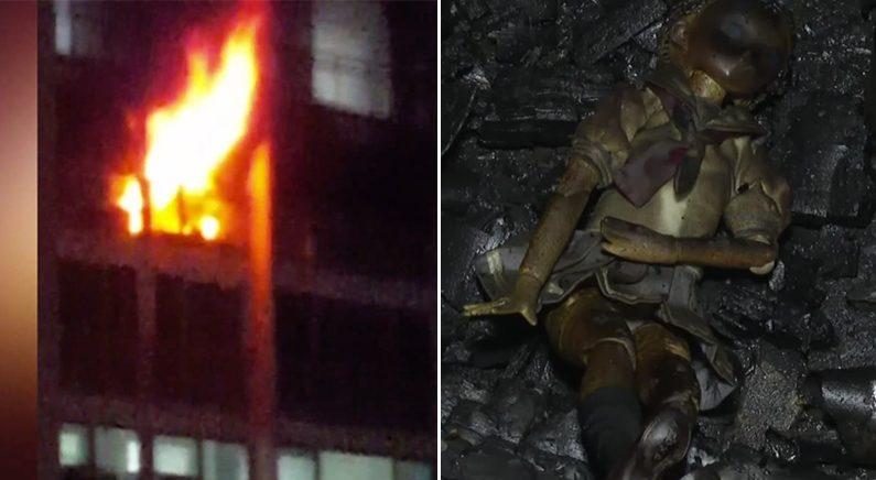 한밤 중에 일산 아파트 화재소동..방화범은 '여친 이별통보' 받은 10대