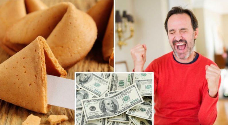 美 60대 남성, 손녀가 가져온 '포춘쿠키' 속 숫자로 4천억원 복권 당첨