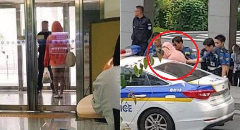 숙명여대 캠퍼스 활보한 '핑크 후드'를 경찰이 긴급 체포한 이유