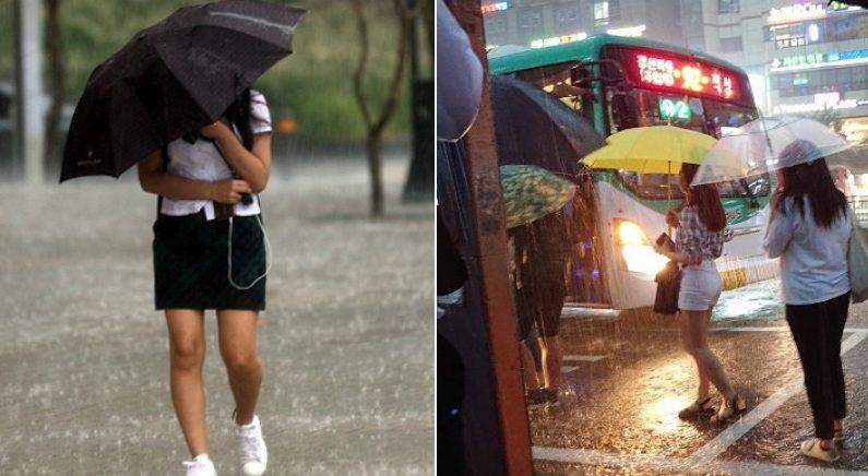 불금인 오늘(21일) 오후부터 '천둥·번개·돌풍' 동반한 비 내린다