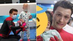 '스파이더맨' 톰 홀랜드가 서울대병원 어린이병동에 깜짝 방문한 이유