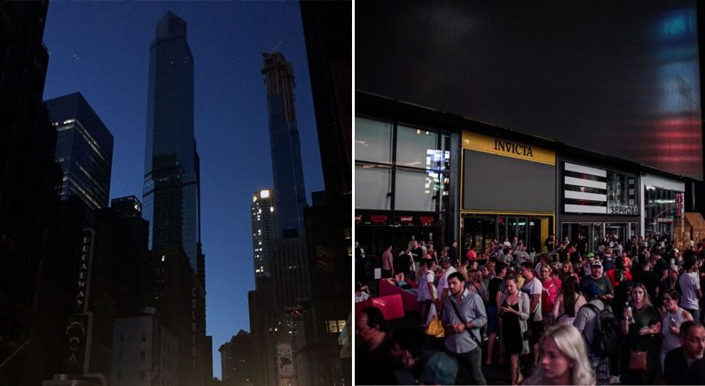 '뉴욕대정전' 42주년에 맨해튼 암흑…타임스스퀘어 전광판 꺼져