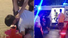 중국 길거리서 흉기에 찔린 피해자가 외면당할 때 '한국 청년'이 나섰다