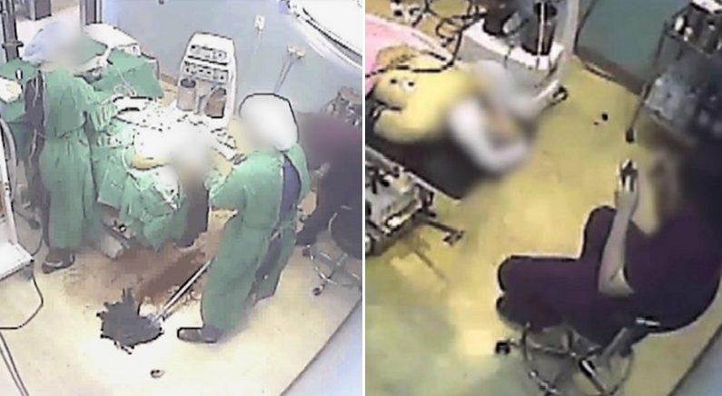 '피 3500cc' 철철 흐르는 환자 앞에 두고 화장 고친 간호조무사 (영상)