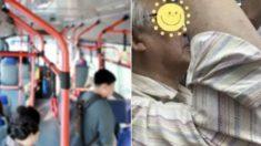 """""""자리 양보 안 해도 됩니다""""…버스 탄 젊은이들 감동시킨 70대 할아버지의 사연"""