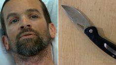 '불곰의 습격'에 주머니칼로 싸워 목숨을 구한 남자