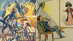 """""""엉뚱하기도, 꽤 비슷하기도"""" 100년 전 상상한 오늘날의 모습"""
