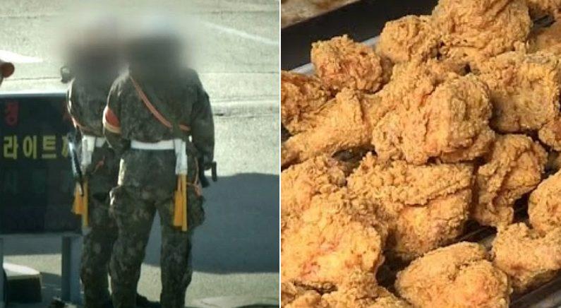 경계 근무 중 스마트폰으로 '생맥주·치킨' 배달시켜 먹은 병사들