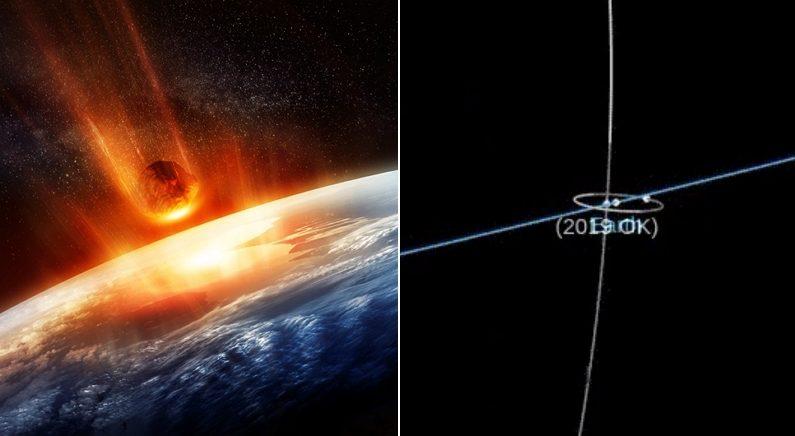 지난주, 지구가 130m 소행성이랑 충돌해 살짝 멸망할 뻔했다 (영상)
