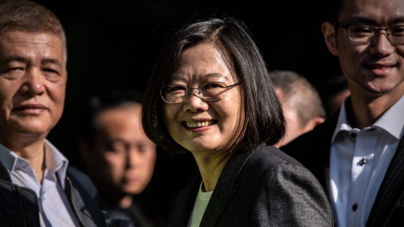 차이잉원 대만 총통, 득표율 20%P 앞서며 압도적 승리로 재선 성공