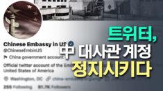 中 대사관 '위구르 탄압' 옹호 발언에 트위터 막혔다