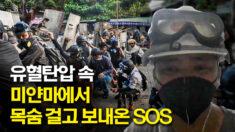 """미얀마서 목숨 걸고 보내온 구조요청…""""우리는 여러분이 필요합니다"""""""