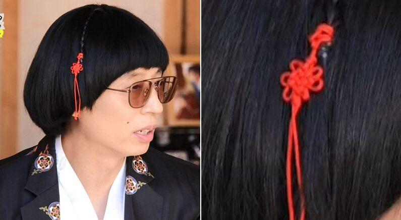 시청자들 뒤늦게 감탄 쏟아지게 한 유재석 '머리끈'의 비밀 (영상)