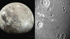 """""""생명체가 살고 있을 수 있다"""" 태양계에서 가장 큰 달 '가니메데'가 가까이서 찍혔다"""