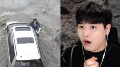 """""""공포 그 자체"""" 일본 대지진 쓰나미 겪은 한국인 생존자의 당시 실제 생존담 (영상)"""
