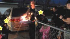 가정폭력 신고받고 출동했다가 생일 케이크도 못 먹어봤다는 아이 위해 파티 연 미국 경찰들