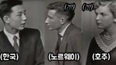 65년 전 미국 토론 방송 나와서 미래 정확하게 예언한 한국인 고등학생의 통찰력
